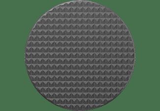 POPSOCKETS PopGrip Knurled Texture Handyhalterung, Schwarz