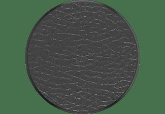 POPSOCKETS Phone Grip & Stand, Austauschbar - Pebbled Vegan Leather Black