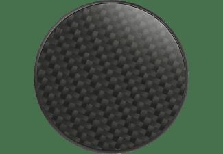 POPSOCKETS PopGrip Luxe Genuine Carbon Fiber Handyhalterung, Schwarz