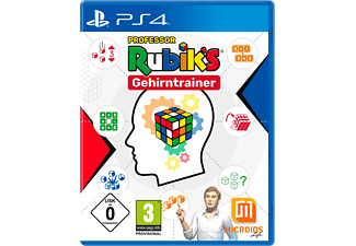 PS4 PROFESSOR RUBIKS GEHIRNTRAINER - [PlayStation 4]