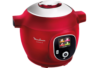 MOULINEX Multicuiseur Cookeo+ Rouge (CE85B510)