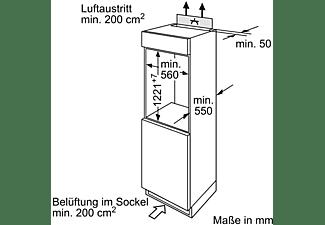 BOSCH KIR24NSF0 Serie 2 Kühlschrank (F, 1221 mm hoch, k.A.)