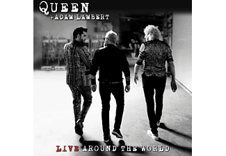 Adam Queen & Lambert - Live Around The World  - (CD + Blu-ray Audio)
