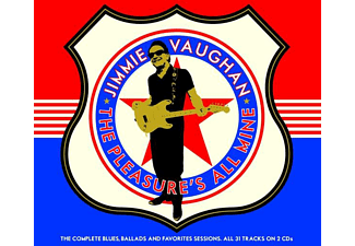 Jimmie Vaughan - Pleasure's All Mine-The Complete Blues,Ballads  - (CD)