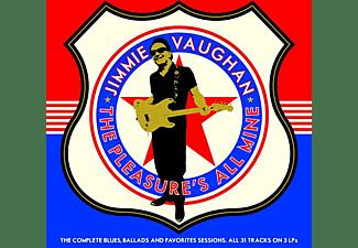 Jimmie Vaughan - PLEASURE S ALL MINE  - (Vinyl)