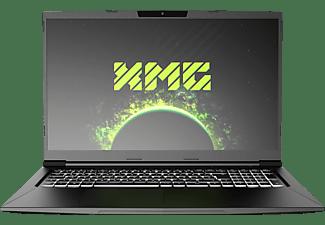 XMG CORE 17 AMD-M20jpm, Gaming Notebook mit 17,3 Zoll Display, Ryzen 5 Prozessor, 16 GB RAM, 500 GB mSSD, GeForce GTX 1650 Ti, Schwarz