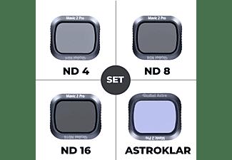 ROLLEI 4er Set ND + Astro, Drohnenfilter, -, passend für Drohne Mavic 2 Pro
