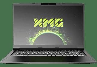 XMG CORE 17 AMD-M20ncd, Gaming Notebook mit 17,3 Zoll Display, Ryzen 5 Prozessor, 16 GB RAM, 1 TB mSSD, GeForce RTX 2060, Schwarz