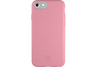 WOODCESSORIES Bio Case Antimicrobial, Backcover, Apple, iPhone 6, 7, 8, SE, Pink