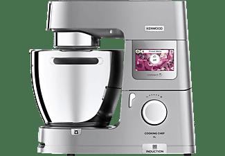 KENWOOD KCL95.424SI Cooking Chef XL  Küchenmaschine mit Kochfunktion Silber (Rührschüsselkapazität: 6,7 Liter, 1500 Watt)