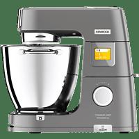 KENWOOD KWL90.124SI Titanium Chef Patissier XL Küchenmaschine mit Waage und Wärmefunktion Silber (Rührschüsselkapazität: 7 Liter, 1400 Watt)