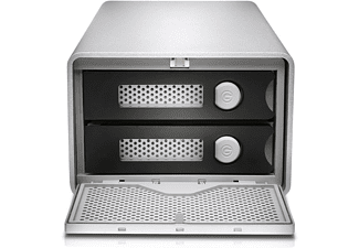 G-TECHNOLOGY G-RAID™, 36 TB HDD, extern, Silber