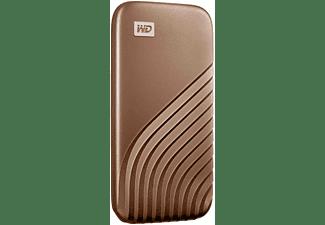 WD My Passport™, 500 GB SSD, 2,5 Zoll, extern, Gold