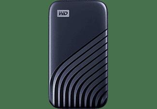WD My Passport™, 500 GB SSD, 2,5 Zoll, extern, Blau