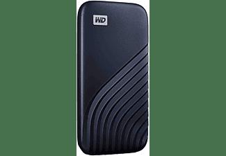 WD My Passport™, 2 TB SSD, 2,5 Zoll, extern, Blau