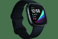 FITBIT Smartwatch Sense Stainless Steel, Carbon/Graphite