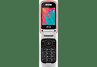 "Móvil - SPC Velvet, 2.4"" TN, Dual SIM, Bluetooth, 2G, Cámara, 800 mAh, Rojo"