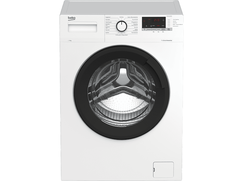 BEKO WML81434NPS1 Waschmaschine 8 kg, 1400 U Min., C