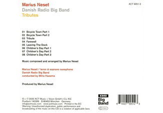 Marius/dr Bigband Neset - Tributes  - (CD)