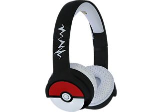 OTL Pokémon Pokeball Kids Wireless , On-ear Kopfhörer Bluetooth Schwarz