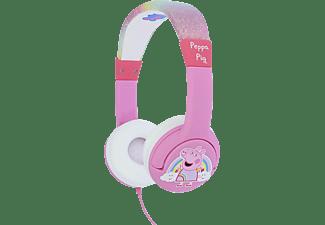 OTL Peppa Pig Rainbow Junior , On-ear Kopfhörer Pink