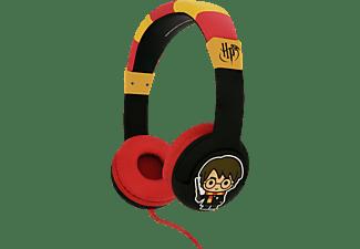 OTL Harry Potter Junior, On-ear Kopfhörer Schwarz/Rot/Gelb