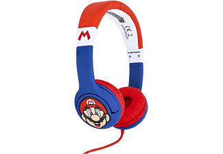 OTL Super Mario Junior , On-ear Kopfhörer Blau/Rot