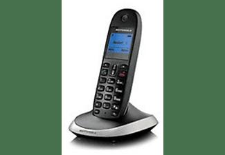 Teléfono - Motorola C1004L, Cuarteto, manos libres, timbre polifonico, negro