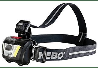Linterna - NEBO DUO 250+ Linterna con cinta para cabeza LED Negro, Gris