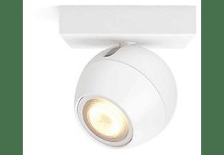 Foco - Philips Hue Ambiance, Empotrable, Inteligente, LED blanco, Luz blanca de cálida a fría, Domótica