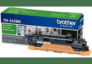 Tóner - Brother Tn243Bk, 1000 páginas, Color negro