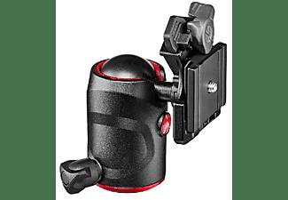 Rótula - Manfrotto Rótula de bola 496, Control de fricción, Negro y rojo