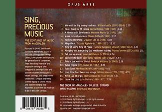 Magdalen College Choir Oxford Mark - Sing,precious music  - (CD)