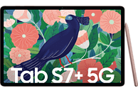 SAMSUNG Galaxy Tab S7+ 5G, Tablet, 256 GB, 12,4 Zoll, Mystic Bronze