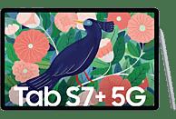 SAMSUNG Galaxy Tab S7+ 5G, Tablet, 256 GB, 12,4 Zoll, Mystic Silver