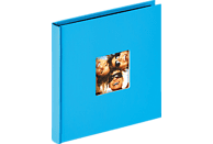 WALTHER Designalbum Fun Fotoalbum, 30 Seiten, Strukturpapier, Oceanblau