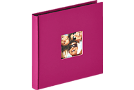 WALTHER Designalbum Fun Fotoalbum, 30 Seiten, Strukturpapier, Violett