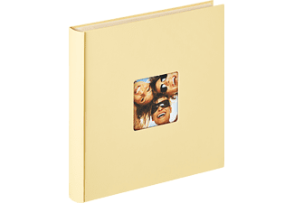 WALTHER Selbstklebealbum Fun Fotoalbum, 50 Seiten, Strukturpapier, Creme