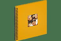 WALTHER Spiralalbum Fun Fotoalbum, 50 Seiten, Strukturpapier, Maisgelb