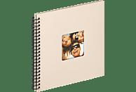 WALTHER Spiralalbum Fun Fotoalbum, 50 Seiten, Strukturpapier, Sand