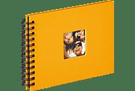 WALTHER Spiralalbum Fun Fotoalbum, 40 Seiten, Strukturpapier, Maisgelb
