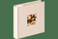 WALTHER Memo-Album Fun Fotoalbum, 100 Seiten, Strukturpapier, Sand