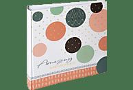 WALTHER Amazing Memories Fotoalbum, 100 Seiten, Kunstdruck, Lachs