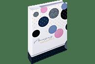 WALTHER Memo-Album Amazing Memories Fotoalbum, 100 Seiten, Kunstdruck, Blau