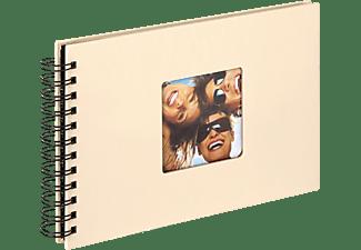 WALTHER Spiralalbum Fun Fotoalbum, 40 Seiten, Strukturpapier, Creme