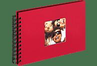 WALTHER Spiralalbum Fun Fotoalbum, 40 Seiten, Strukturpapier, Rot