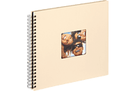 WALTHER Spiralalbum Fun Fotoalbum, 50 Seiten, Strukturpapier, Creme