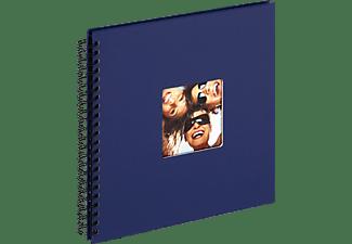 WALTHER Spiralalbum Fun Fotoalbum, 50 Seiten, Strukturpapier, Blau
