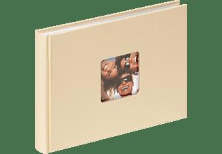 WALTHER Designalbum Fun Fotoalbum, 40 Seiten, Strukturpapier, Creme