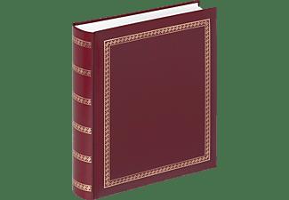WALTHER Classicalbum Das schicke Dicke Fotoalbum, 100 Seiten, Kunstleder, Rot